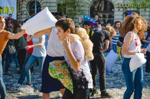 International Pillow Fight Day - Bucuresti 2017